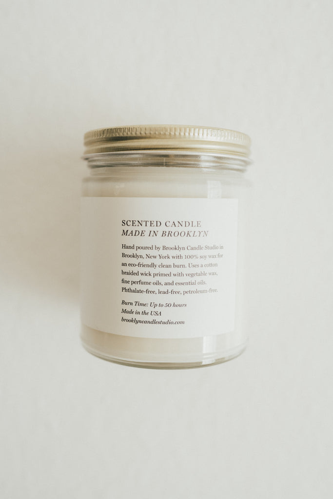 Minimalist Candle, Santal