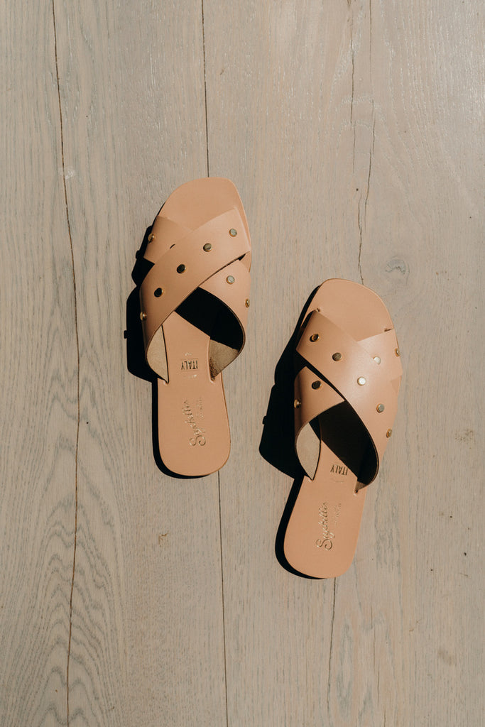 """Relaxation"" Sandals, Nude"