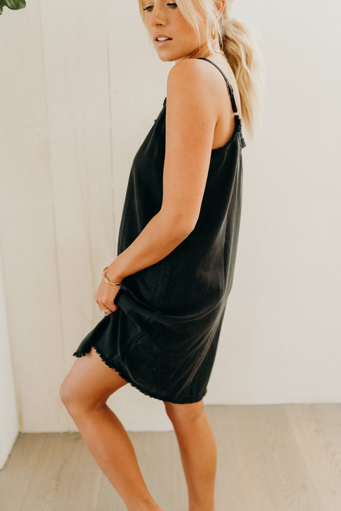 """Jasper"" Cami Dress, Vintage Black"