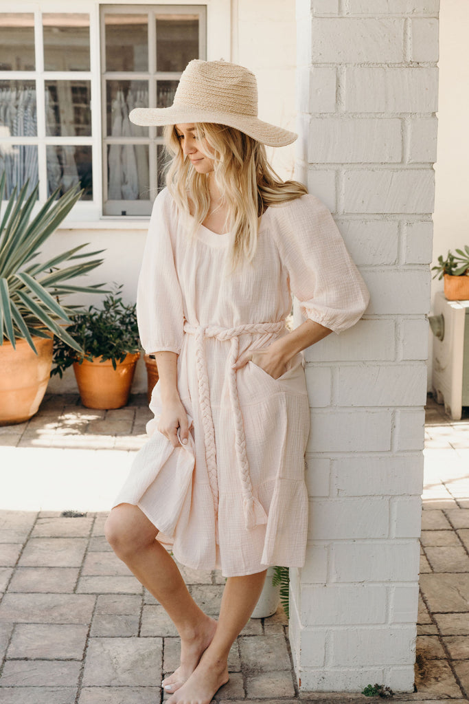 Elle Dress, Light Pink
