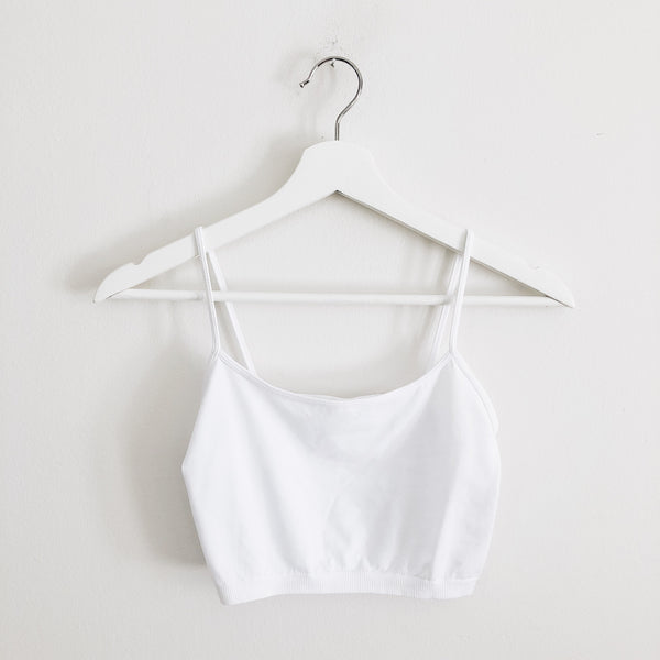 """Essential Cami"", White"