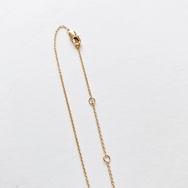 """LA"" Necklace, Gold"