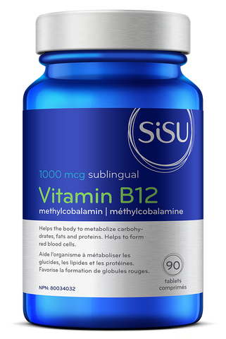 Vitamin B12 1000 mcg Methylcobalamin
