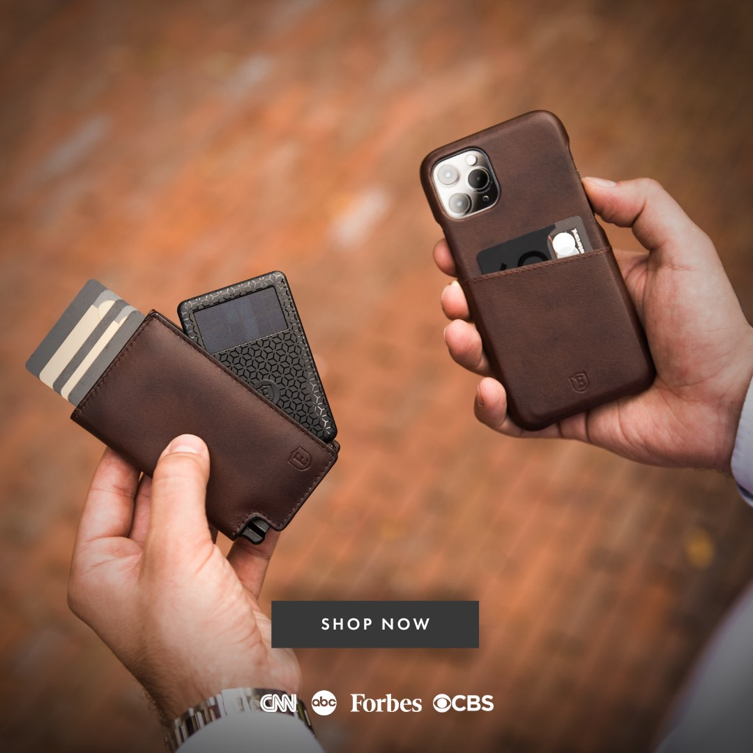 New New Card Holder Card Holder Gift for Son Slim Wallet with Money Clip RFID..