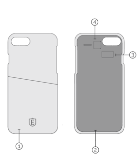IPHONE CASE回路図
