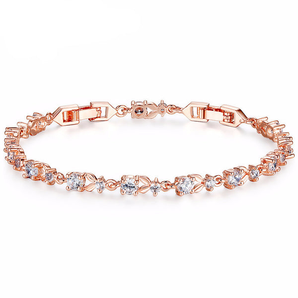 Luxury 18K Gold Plated Women Bracelet - Embrace Luxury