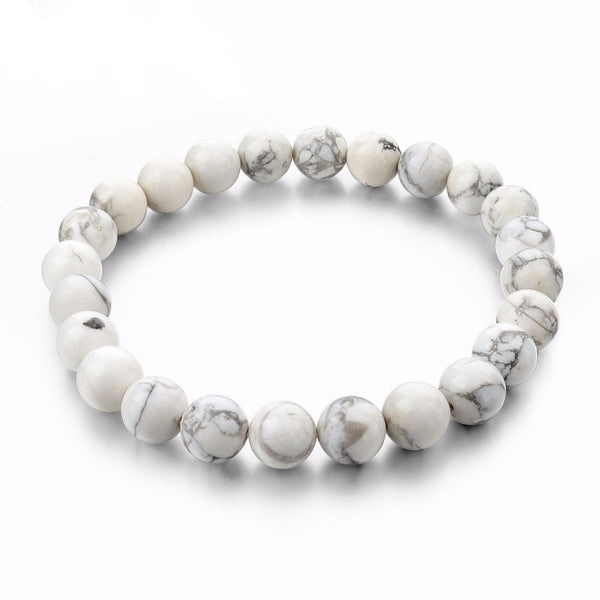 Natural Stone Strand Unisex Bracelets - Embrace Luxury