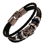 Handmade Retro PU Leather Woven Charm Unisex Bracelets - Embrace Luxury