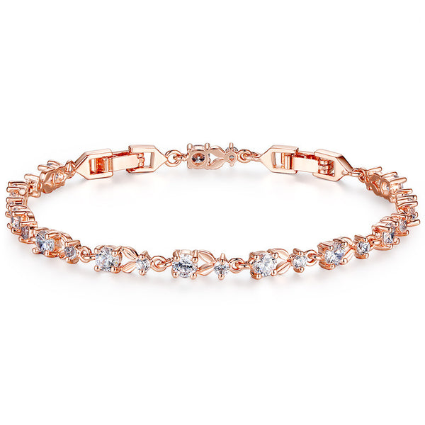 Luxury 18K Gold Plated Women Bracelet