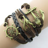 Charm Vintage Anchor Rudder Women Bracelet - Embrace Luxury