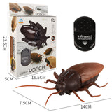 Scary Creepy infrared Remote Control Cockroach with light - Embrace Luxury
