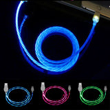 Led USB Cable Flash Light  iPhone Samsung Xiaomi Huawei Android - Embrace Luxury