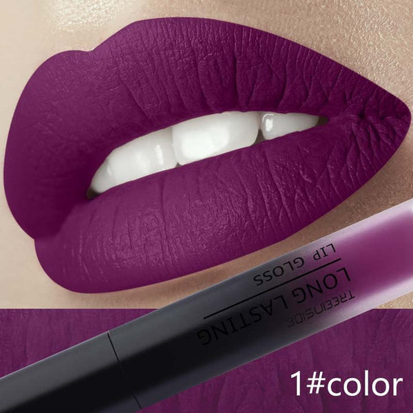 Liquid Lipstick Matte Makeup Waterproof - Embrace Luxury