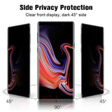 Anti peek Privacy Tempered Glass For Samsung - Embrace Luxury