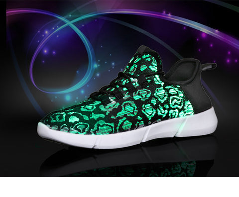 USB Rechargeable Sneakers with Light - Embrace Luxury