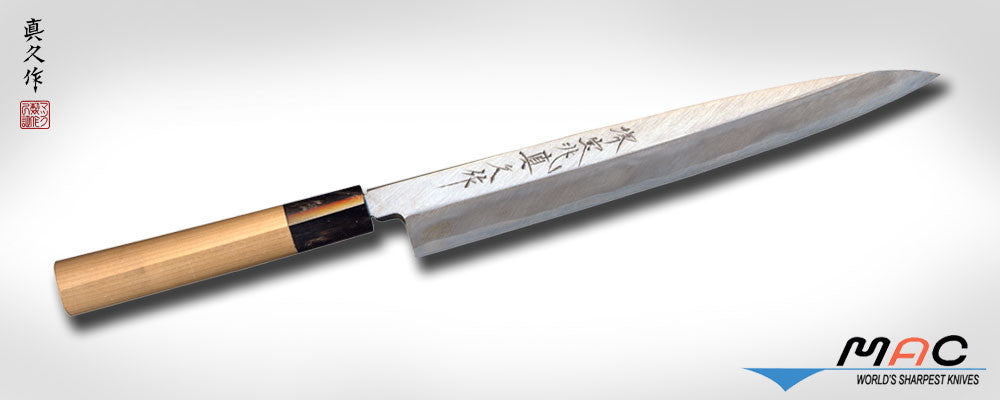 "Japanese ""HO Series"" 9 1/2"" Yanagiba (FK-240) - MAC Knife"
