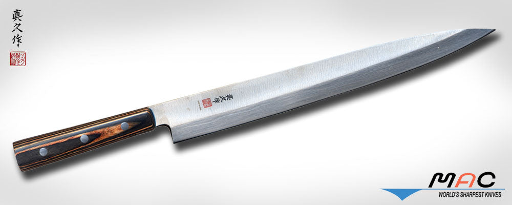 "Japanese Series 11 1/2"" Yanagiba (FKW-10) - MAC Knife"