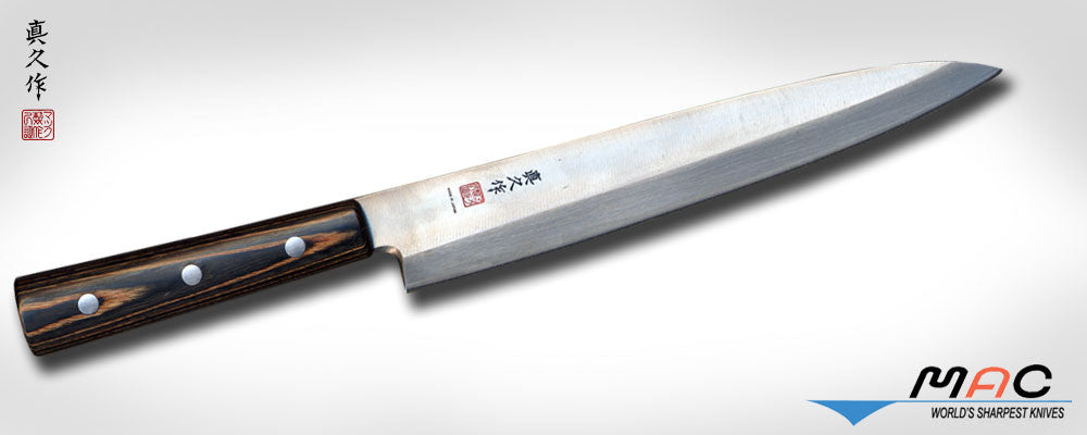 "Japanese Series 8"" Yanagiba (FKW-7) - MAC Knife"