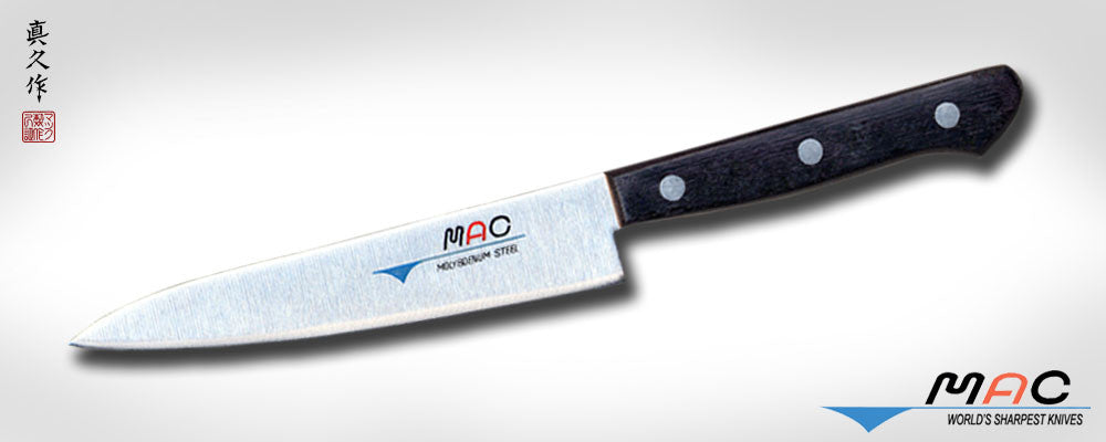 "Chef Series 5 1/2"" Utility Knife (HB-55) - MAC Knife"