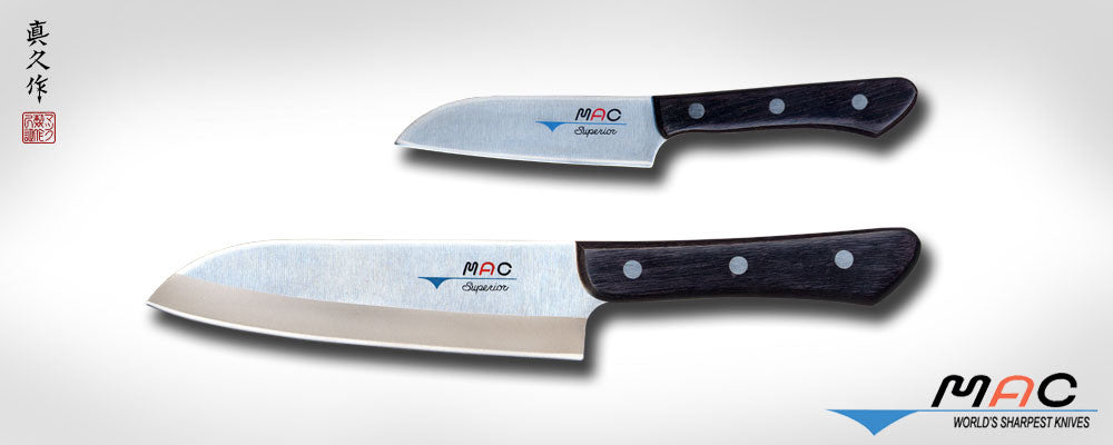 Superior Series Santoku Set 2 PCS (SK-201) - MAC Knife