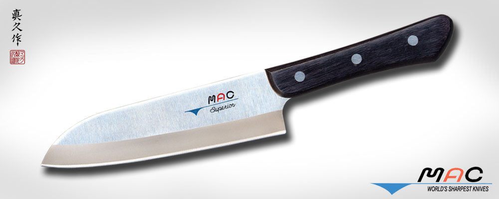 "Superior Series 6 1/2"" Santoku (SK-65) - MAC Knife"