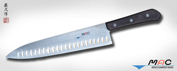 "Chef Series 10"" Chef's Knife with Dimples (TH-100) - MAC Knife"