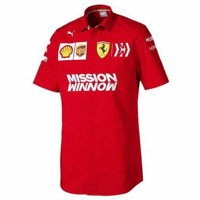 Scuderia Ferrari 2019 F1 Team Short Sleeve Shirt
