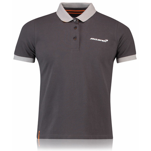 McLaren Renault Formula 1 Men's 2018 Essentials Anthracite Polo