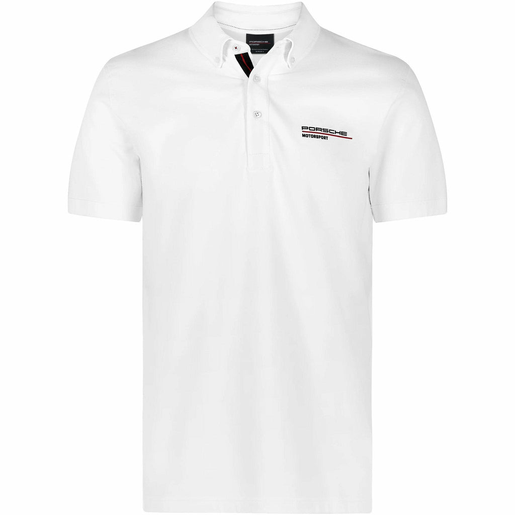 Porsche Motorsport Men's White Polo