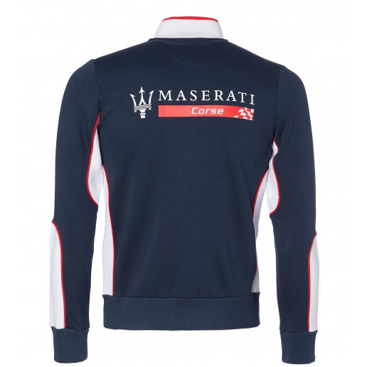 Maserati Corse Women's Zip-Up Sweatshirt Blue