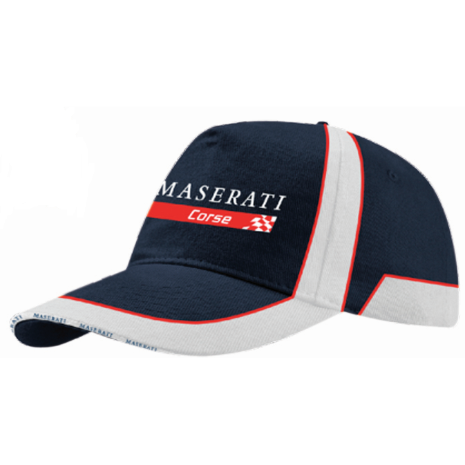 Maserati Corse Kids Baseball Hat Blue