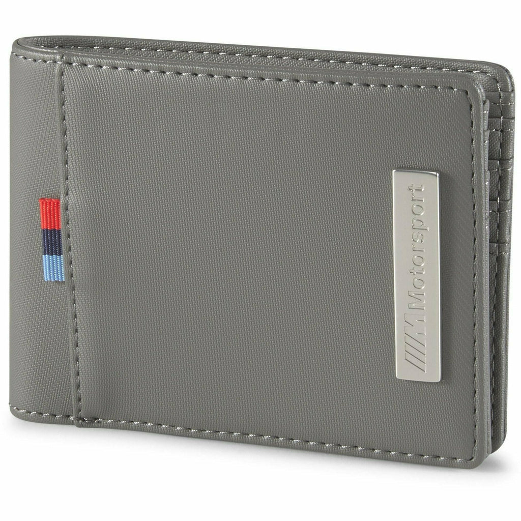 BMW M Motorsports Puma Wallet- Black/Gray