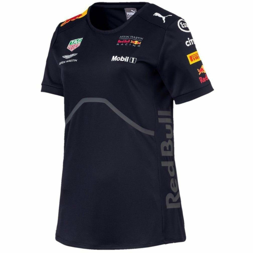 Red Bull Racing Formula 1 Women's 2018 Puma Navy Team T-shirt