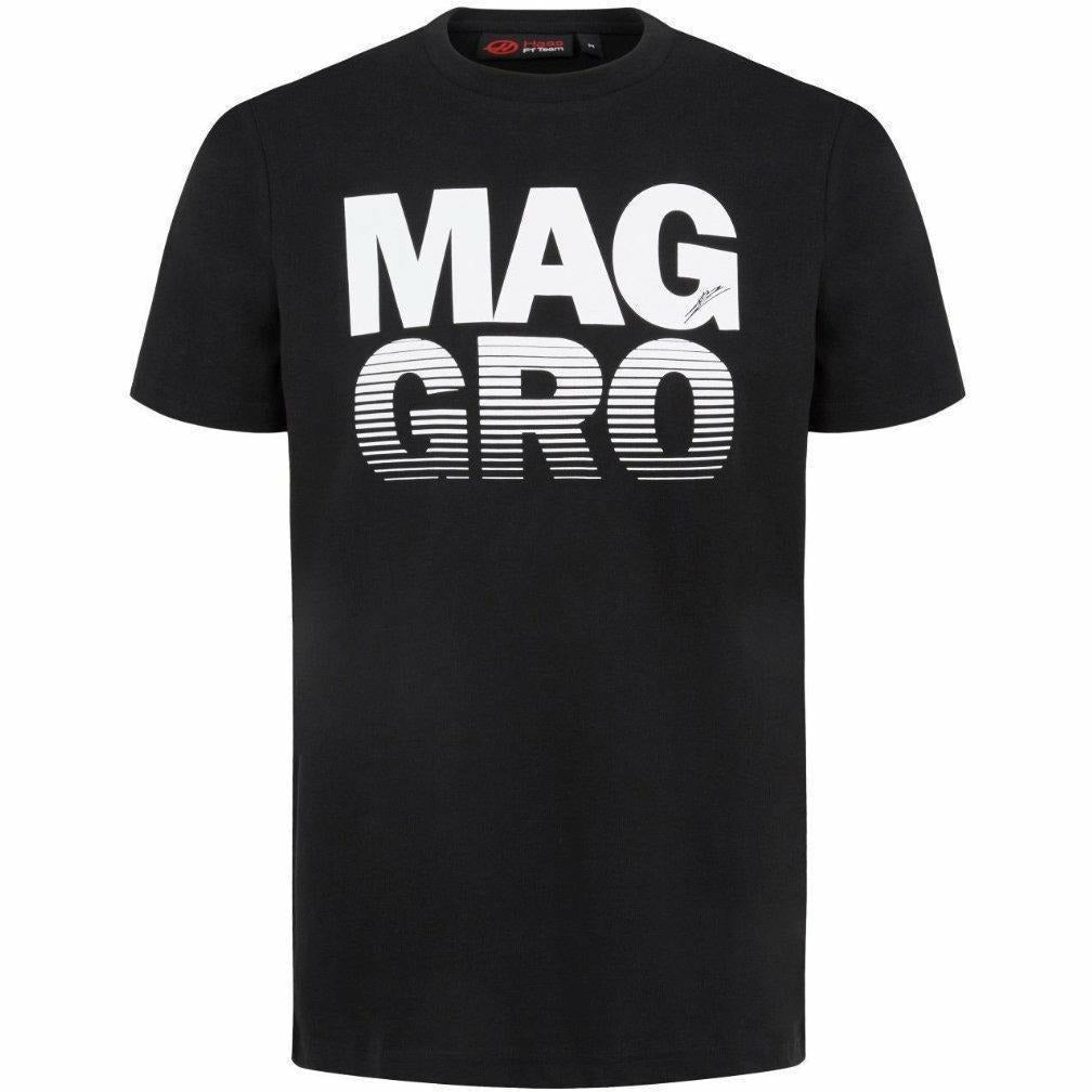 Haas American Team Formula 1 Authentic 2018 Men's Black Mag/Gro T-Shirt