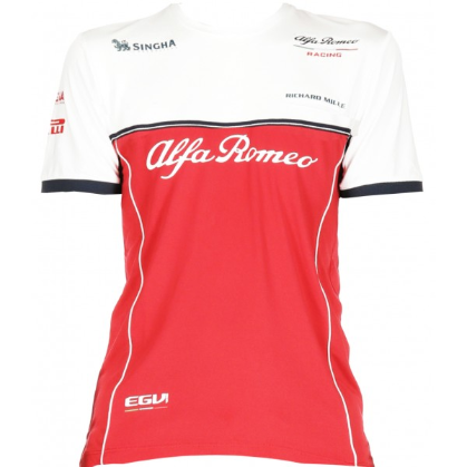 (PRE-ORDER) Alfa Romeo Racing F1 Women's 2019 Team T-Shirt