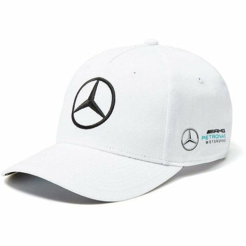 Mercedes Benz AMG Petronas F1 2018 White Team Baseball Hat