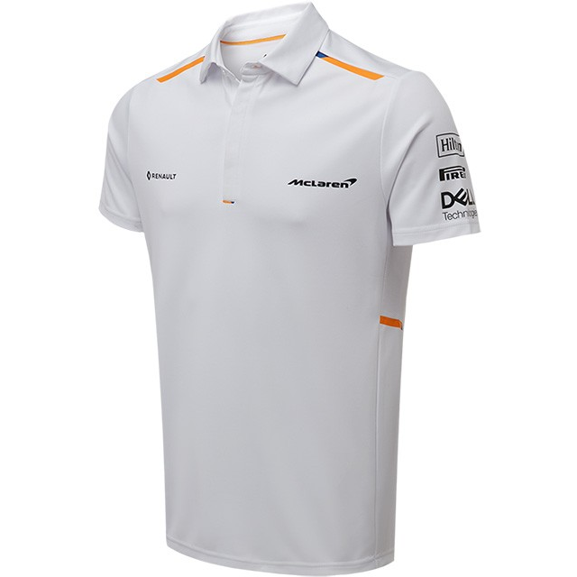 McLaren F1 2019 Team Polo Shirt White