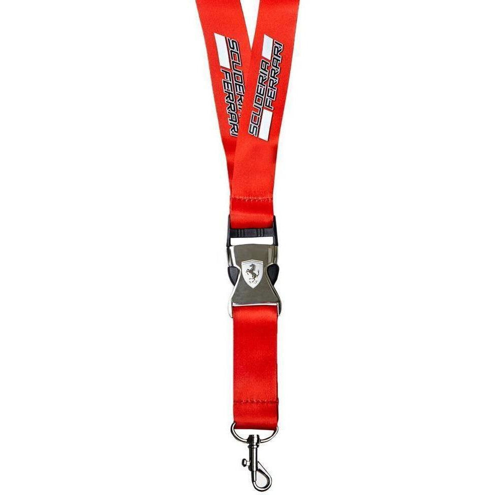 Scuderia Ferrari Formula 1 Authentic Red Lanyard