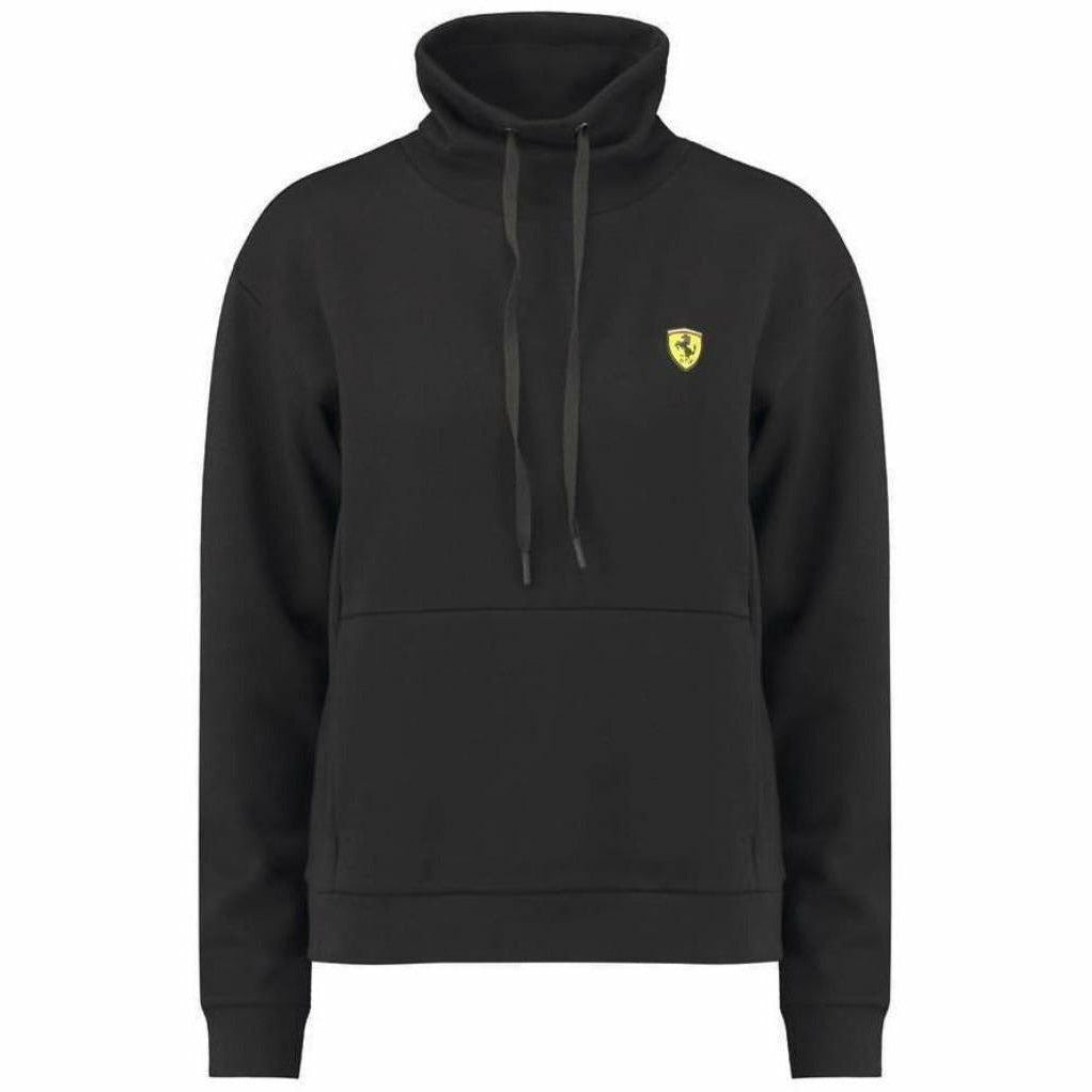 Scuderia Ferrari Formula 1 Women's 2018 Black Funnel Neck Sweatshirt