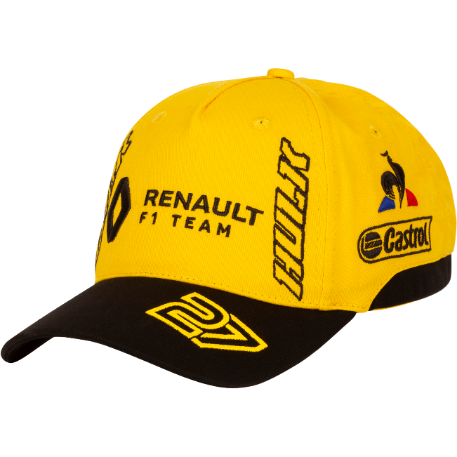 Renault F1 2019 Nico Hulkenberg #27 Team Hat Yellow
