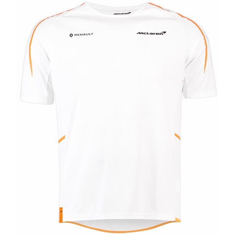 McLaren Renault Formula 1 Men's 2018 Team White T-Shirt