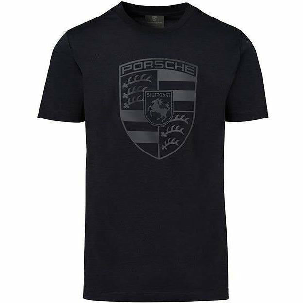 Porsche Men's Black Crest T-Shirt