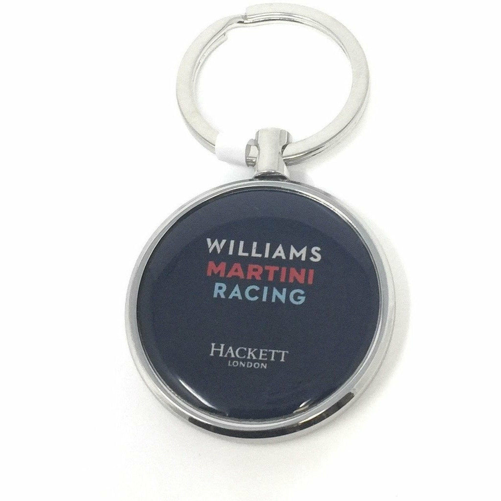 Williams Martini Racing F1 Formula One Keychain
