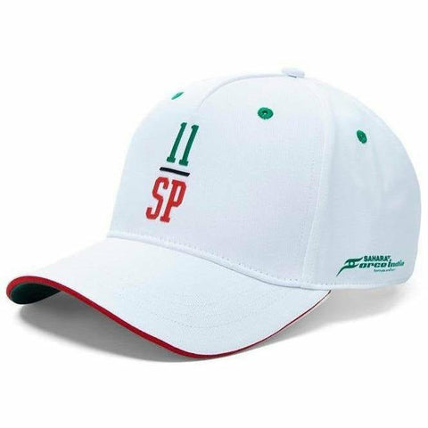 "Sahara Force India Formula 1 White Sergio ""Checo"" Perez #11 Hat"