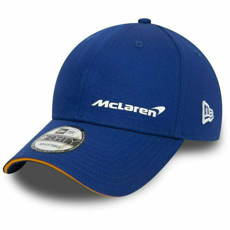 McLaren New Era 9Forty Essentials Hat Blue/Black/Papaya