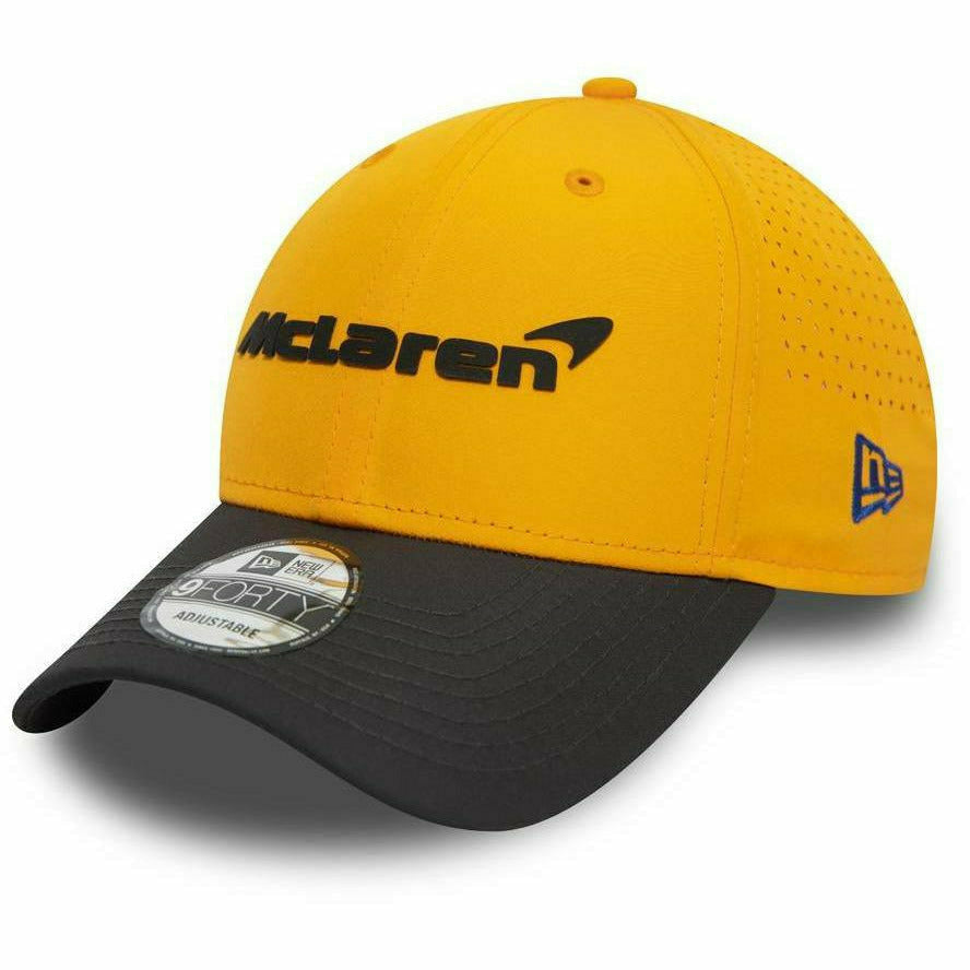 McLaren 2020 New Era Stretch 9Forty Team Hat Orange