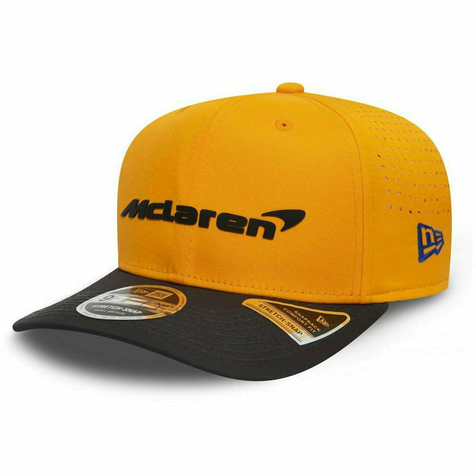 McLaren 2020 New Era Stretch 9Forty Team Carlos Sainz Hat Orange