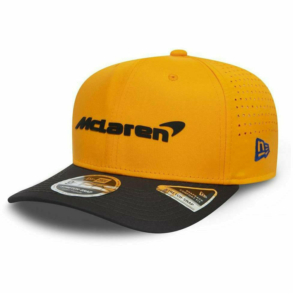 McLaren 2020 New Era Stretch 9Forty Team Lando Norris Hat Orange