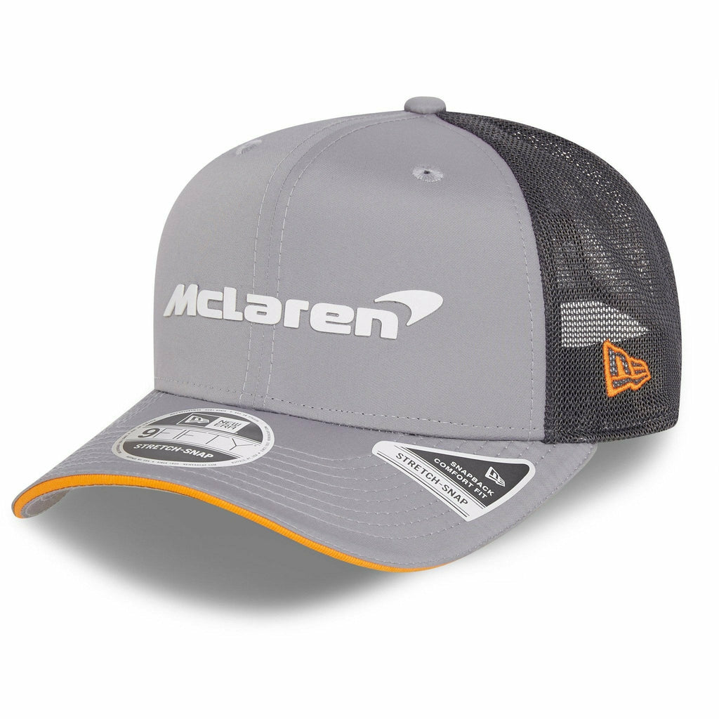 McLaren F1 Special Edition Abu Dhabi Grand Prix 9FIFTY Hat Gray