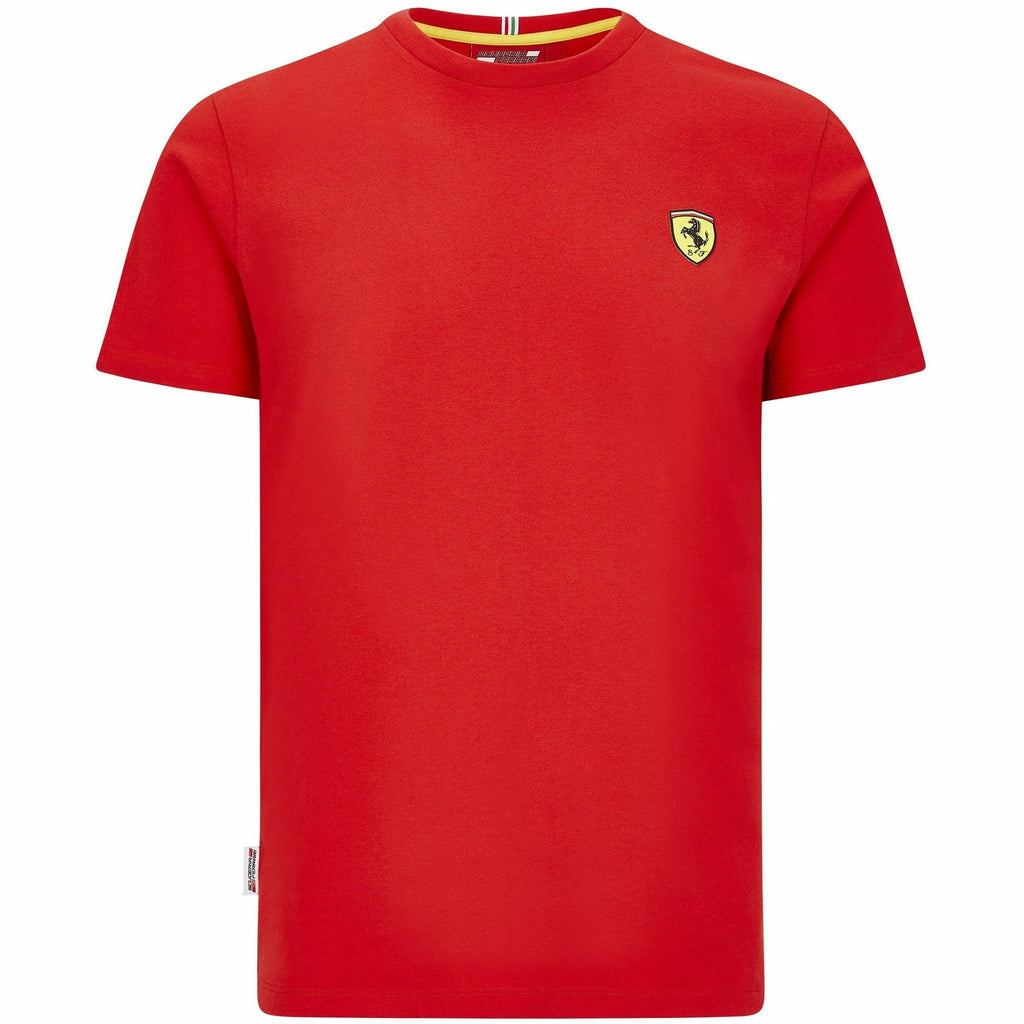 Scuderia Ferrari F1 Men's Small Shield T-Shirt Black/Red